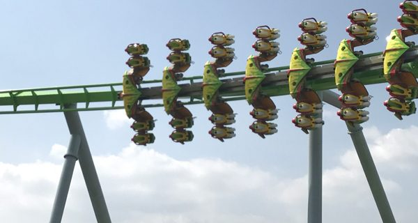 B&M Wing Coaster in Chongqing, China